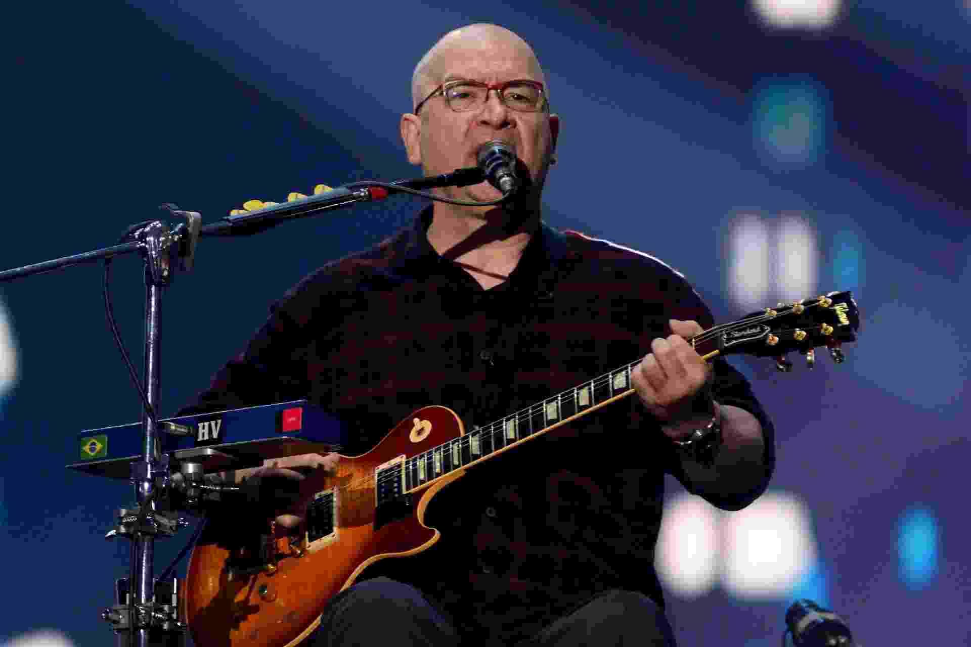 Herbert Vianna, voz, guitarra e violão do Paralamas, no Palco Mundo do Rock in Rio 2019 - FERNANDA BALSTER/FOTOARENA/ESTADÃO CONTEÚDO