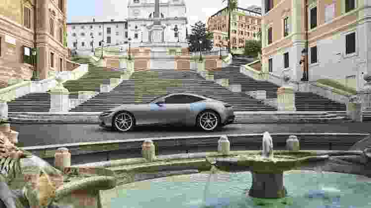Novo modelo da marca italiana traz motor V8 turbo de 620 cv instalado na parte dianteira - Divulgação