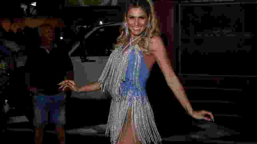 Lívia Andrade se apresentou para ensaio da Paraíso do Tuiuti - ROBERTO FILHO / BRAZIL NEWS