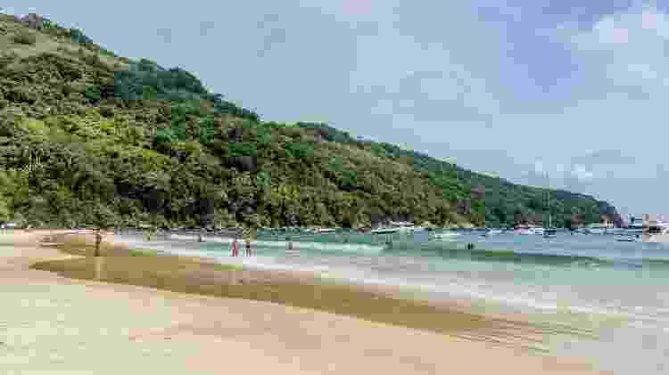 Praia Lopes Mendes, em Ilha Grande (Rio de Janeiro) - Getty Images