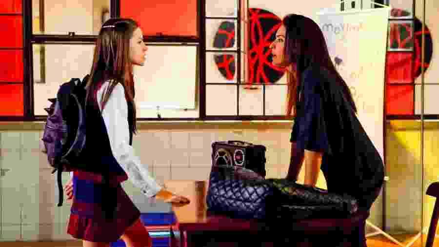 Débora não cumpre o combinado com Filipa e a menina fica furiosa -  Lourival Ribeiro/ SBT