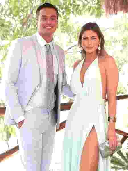 Leo Dias e Lívia Andrade, der novo, juntos - Arquivo pessoal
