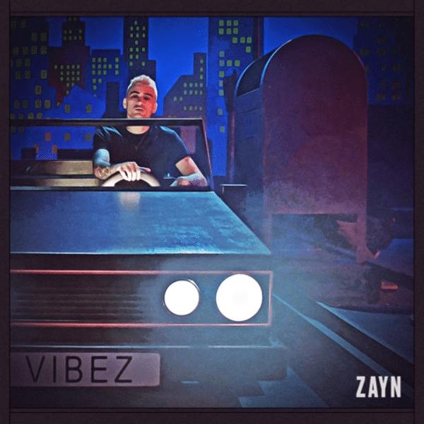 Zayn na capa do single 'Vibez'