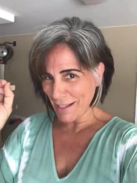 Gloria Pires publicou vídeo nas redes sociais - Reprodução/Instagram @gpiresoficial