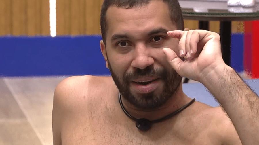 BBB 21: Gil especula sobre número de seguidores - Reprodução/Globoplay
