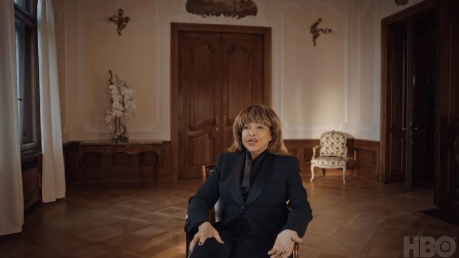 Tina Turner em depoimento para o documentário sobre sua vida - Reprodução/HBO