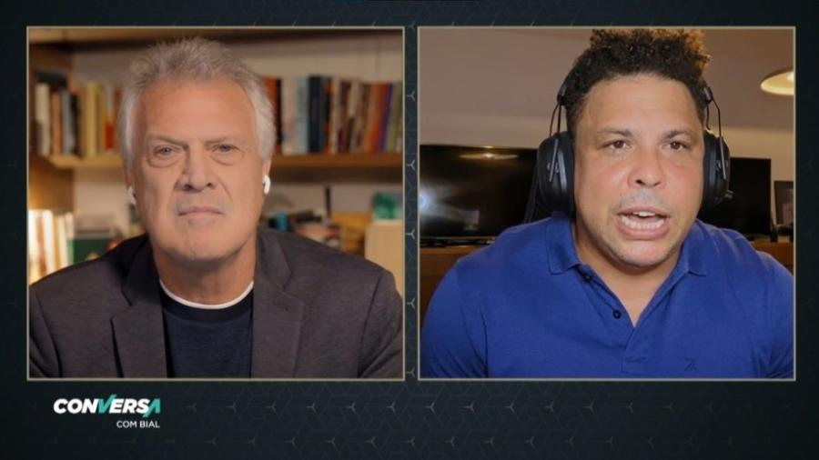 Bial e Ronaldo: treze anos se passaram e a transfobia permanece - Reprodução/TV Globo