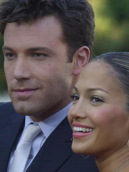 Jennifer Lopez & Ben Affleck em 2003 - Getty Images