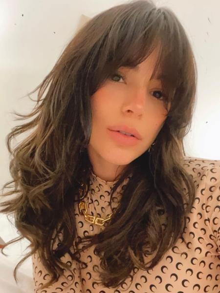Bruna Marquezine; cabelo em camadas; shaggy hair - Reprodução/Instagram