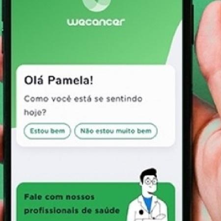 Plataforma já conta com a adesão de diversos hospitais, possui mais de 2,5 mil usuários e realiza, em média, 800 atendimentos por mês - WeCancer/divulgação