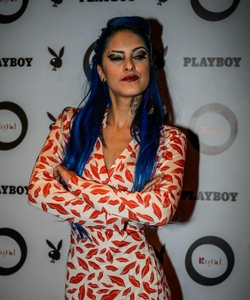 """14.jul.2015 - Capa do mês de julho da revista """"Playboy"""", Tati Zaqui lançou sua edição em evento para convidados em uma balada em São Paulo. Ela estourou no país requebrado e cantando o hit """"Pararatibum"""""""