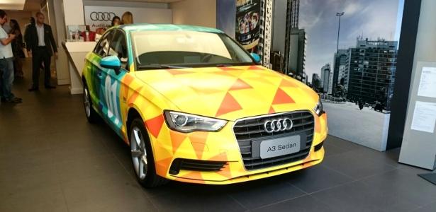 Audi A3 Sedan nacional personalizado pelo Studio Kobra será leiloado - Murilo Góes/UOL