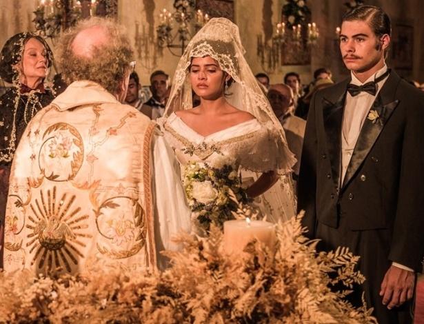 """Em """"Velho Chico"""", Tereza é obrigada a se casar com jovem político - Reprodução/Gshow"""