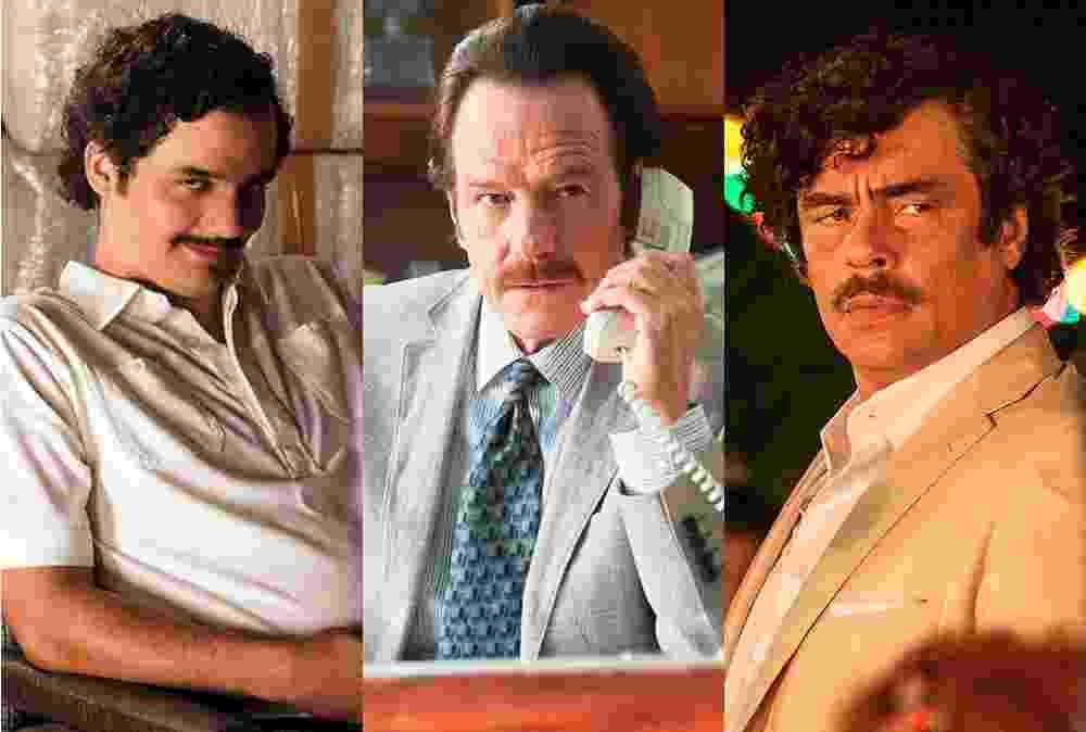 Wagner Moura, Bryan Cranston e Benicio del Toro - Montagem