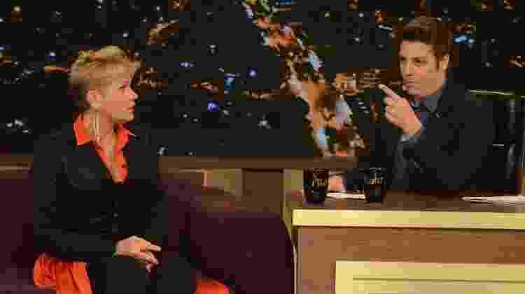 Xuxa em entrevista para Fabio Porchat, que vai ao ar nesta quarta (14) - Antonio Chahestian/Record TV - Antonio Chahestian/Record TV