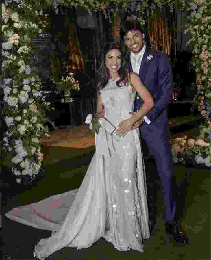 Patrícia Abravanel viveu um conto de fadas real em seu casamento com o deputado Fábio Faria em abril - Reprodução/Instagram
