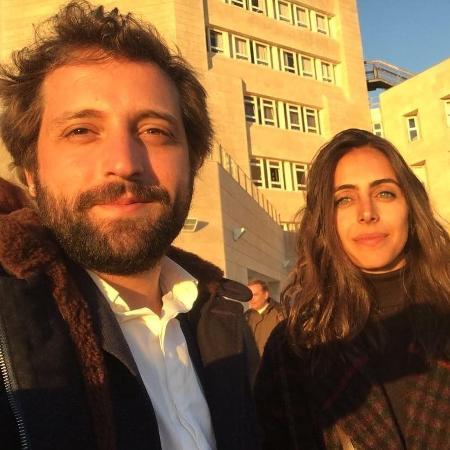 Gregório Duvivier e a namorada, Giovanna Nader  - Reprodução/Instagram/giovannanader