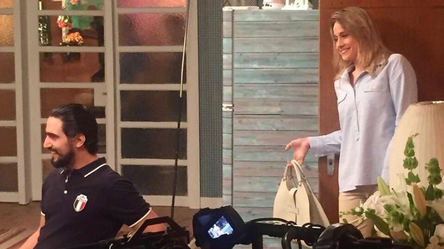 """Fernanda Gentil divulga registro de sua participação na segunda temporada de """"Adnight"""" - Reprodução/Instagram/gentilfernanda"""