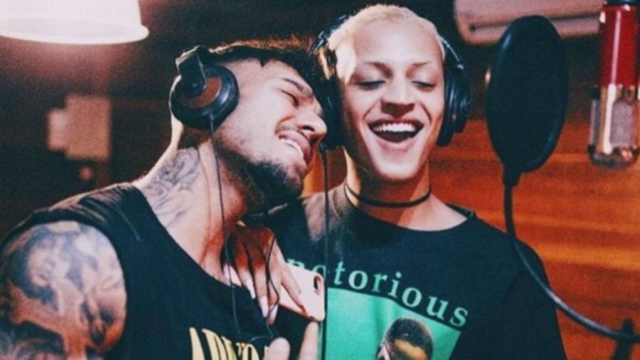 """Lucas Lucco convidou Pabllo Vittar para gravar a música """"Paraíso"""" - Reprodução"""