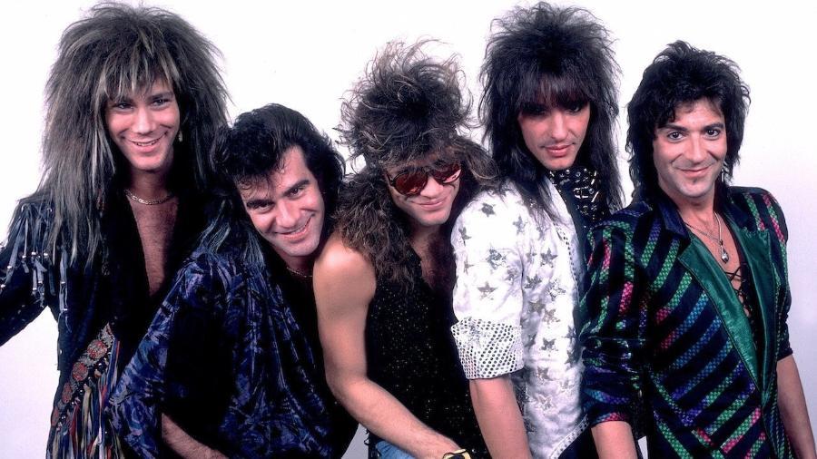 A banda Bon Jovi vai voltar a reunir os integrantes originais em nomeação para o Hall da Fama do Rock - Reprodução