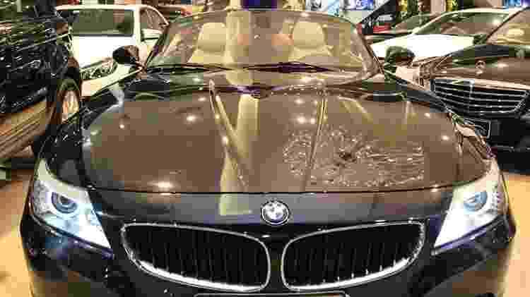 BWN Z4 conversível de Dudu Camargo - Thais Aline/ Agência Fio Condutor - Thais Aline/ Agência Fio Condutor