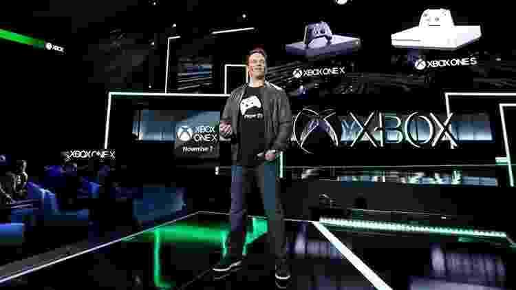Phil Spencer na apresentação de Xbox durante a E3 2019, em Los Angeles - Divulgação/Microsoft
