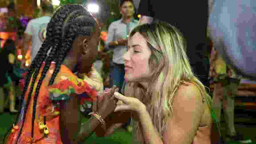Titi e a mãe, Giovanna Ewbank, se divertem em festa no Rio - Felipe Panfili/Divulgação
