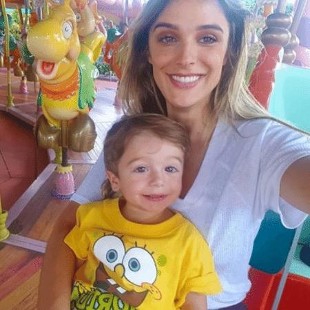 Rafa Brites e Rocco na Disney - Reprodução/Instagram