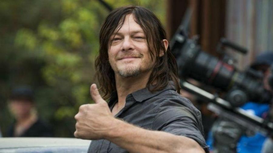 """O ator Norman Reedus, astro de """"The Walking Dead"""" - Reprodução"""