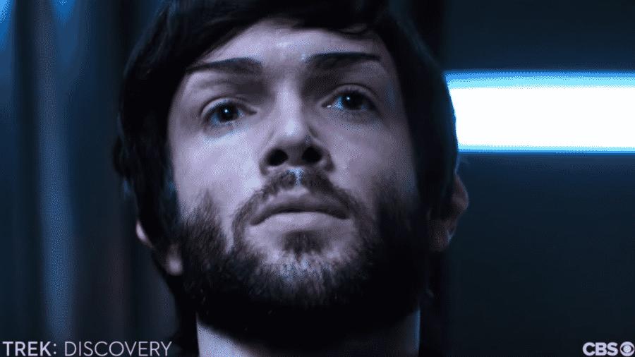 """Ethan Peck como Spock em """"Star Trek - Discovery"""" - Reprodução/YouTube"""