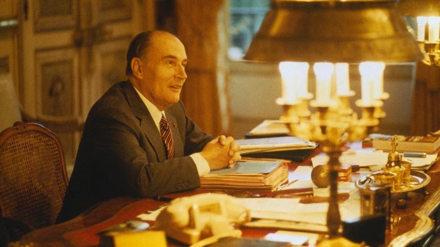 O ex-presidente francês François Mitterrand (1916-1996) - Jerome Prebois/Kipa/Sygma/Getty Images