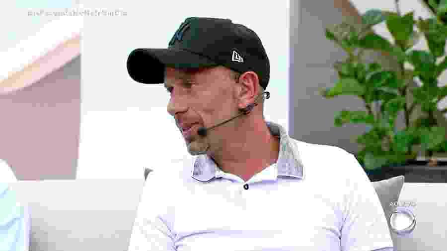 """Rafael Ilha fala sobre o jogo e sobre episódios de sua vida no """"Hoje em Dia"""" - Reprodução/RecordTV"""