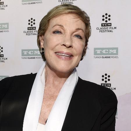 A atriz Julie Andrews - Reprodução