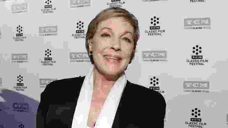 A atriz Julie Andrews - Reprodução - Reprodução