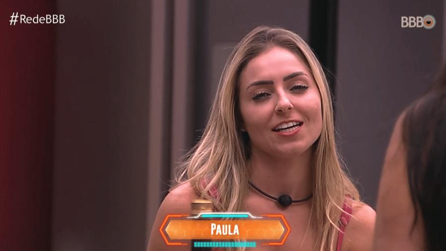 """Paula fala sobre Alan na estreia do """"BBB19"""" - Reprodução/Globoplay"""