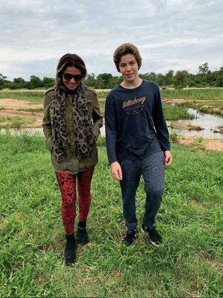 Giovanna Antonelli com o filho, Pietro - Reprodução/Instagram