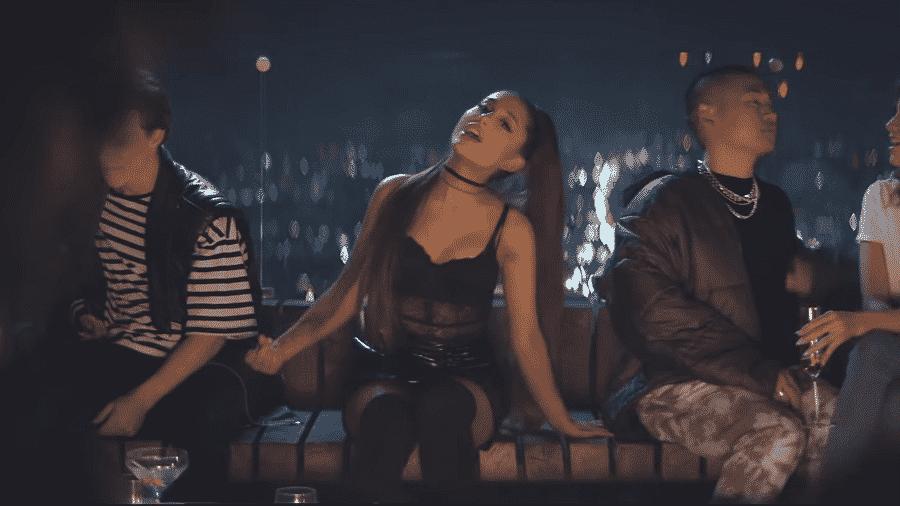 Ariana Grande em novo clipe - Reprodução/Youtube