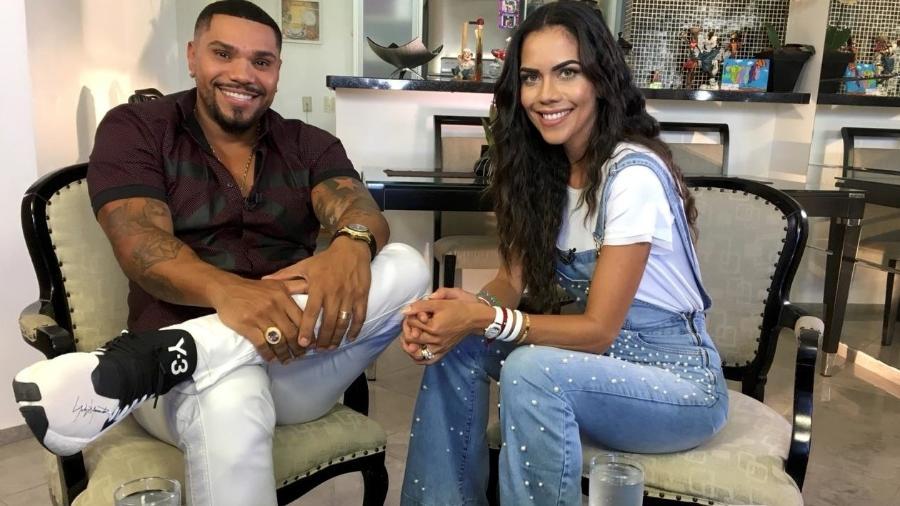 Naldo e Daniela Albuquerque  - Divulgação/RedeTV!