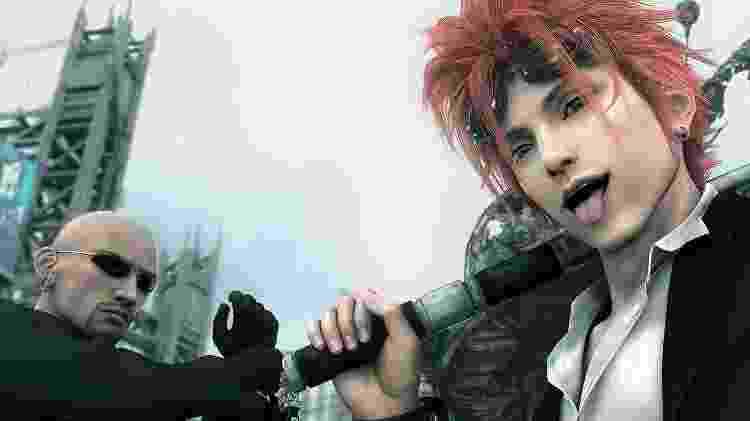 Final Fantasy VII: Advent Children - Reprodução - Reprodução