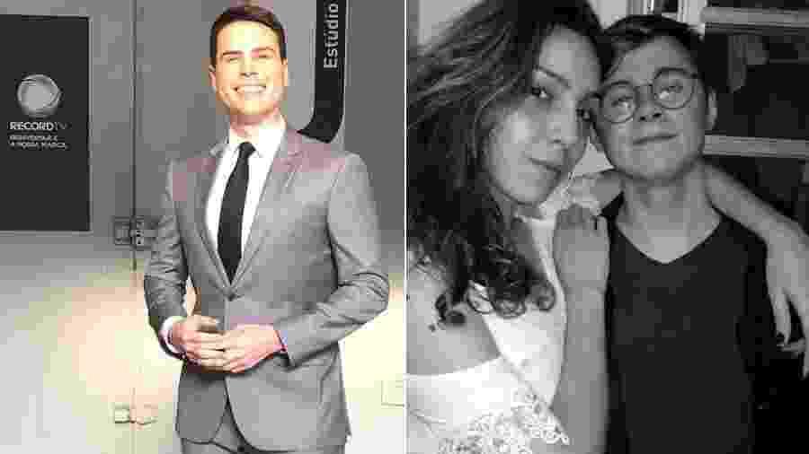 Luiz Bacci recebe apoio de  Isabela Tibcherani, namorada do ator Rafael Miguel - Reprodução/Instagram