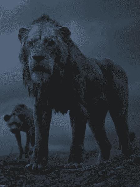 Cena do filme O Rei Leão (2019) - Reprodução