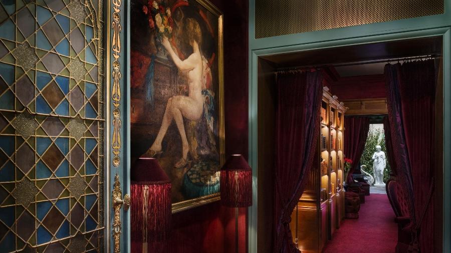"""O Maison Souquet opera em uma antiga """"casa de prazeres"""" do começo do século 20 - Divulgação/Maison Souquet"""