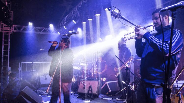 BNegão & Seletores de Frequência se apresentam no Festival de Inverno de Bonito (MS) - Daniel Reino/Divulgação - Daniel Reino/Divulgação