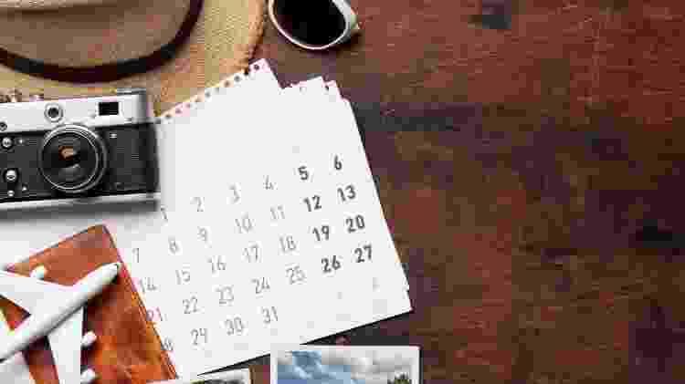 Uma dica é verificar as possíveis datas para deixar as viagens mais baratas - Getty Images/iStockphoto