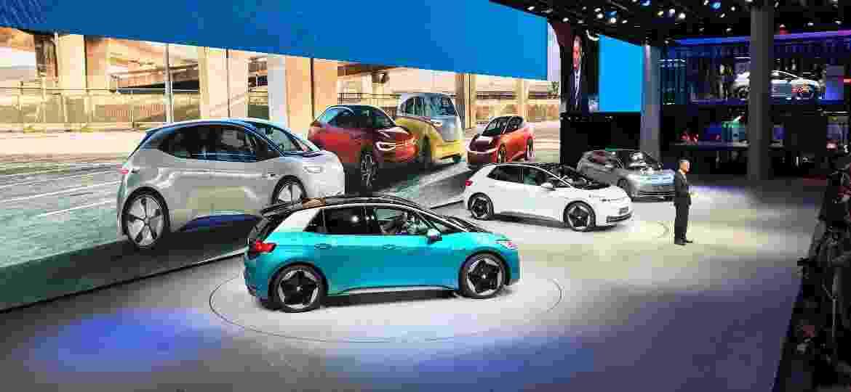 Estande da VW equiilibra interatividade com exposição de carros - Ricardo Ribeiro/Colaboração para o UOL