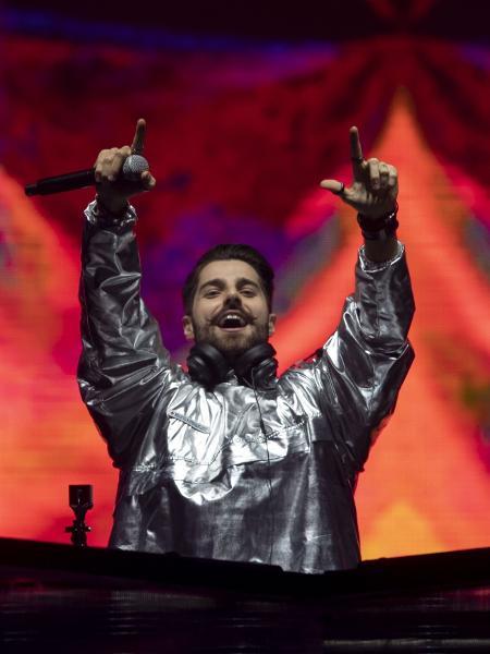 DJ Alok se apresenta durante o Rock in Rio no Parque Olímpico - Mauro Pimentel/AFP