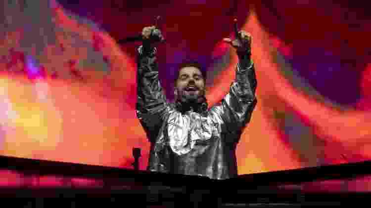 """O DJ brasileiro Alok anunciou que é fã assumido de """"Free Fire"""". - Mauro Pimentel/AFP"""