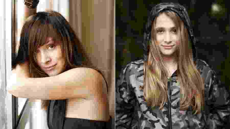 Gabriela Duarte e a filha, Manuela: mesmo sorriso discreto - Reprodução/Instagram