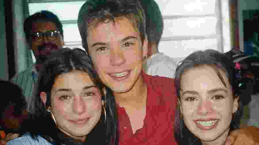 Fernanda Paes Leme, Paulo Vilhena e Sandy, nos bastidores de Sandy & Junior - Reprodução/ Instagram