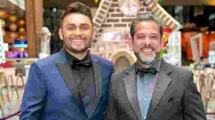Mano Walter e seu empresário, Pedro Mota - Reprodução/Instagram
